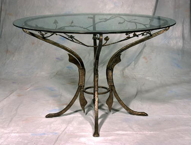 F1-0082 Leaf Table by Jeff Benson