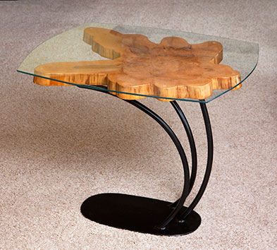 F1-0440 Cypress Table by Jeff Benson
