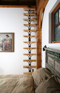 AR1-0335 Rustic Ladder