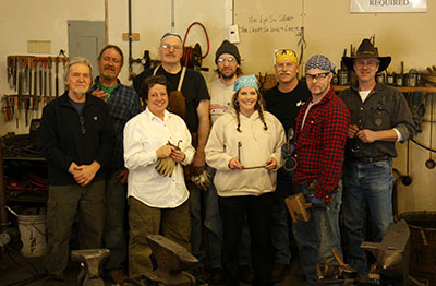 Whole Day Blacksmithing Class